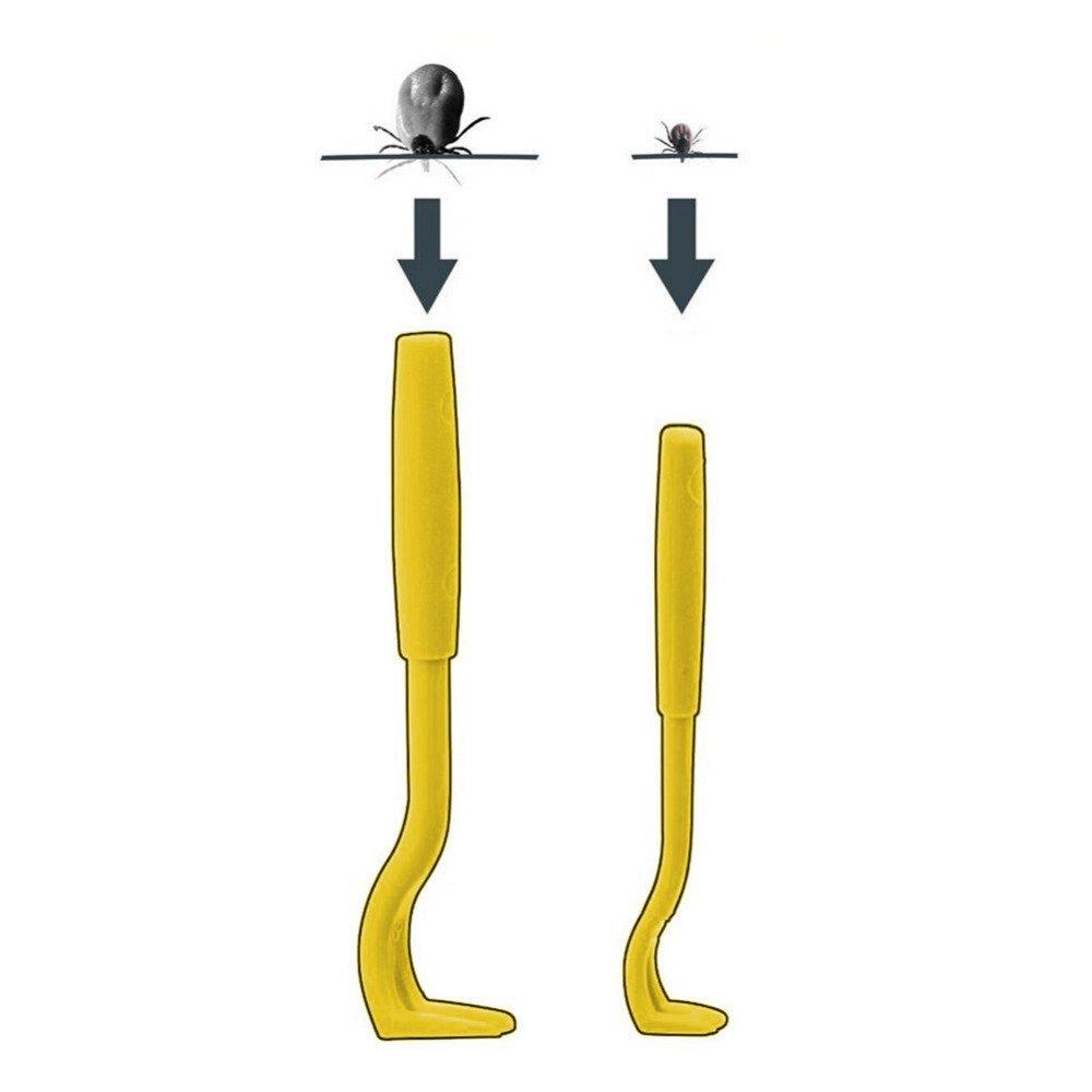 AOBILE(TM)100 set /lot Remover hook tool horse cat dog pet animal flea Hooks pet dogs cats pets fleas hook combs