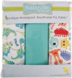 Babyville Boutique Packaged PUL Fabric, Dinos and Monsters