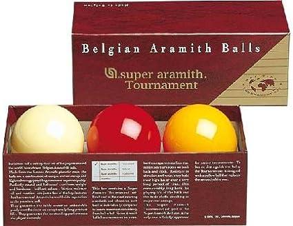 61,5mm Billard Kugeln Super Aramith Tournament Karambol