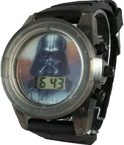 Star Wars Kid's DAR3559 Darth Vader Light up Watch