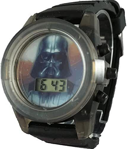 Star Wars Kid's DAR3559 Darth Vader Light up Watch