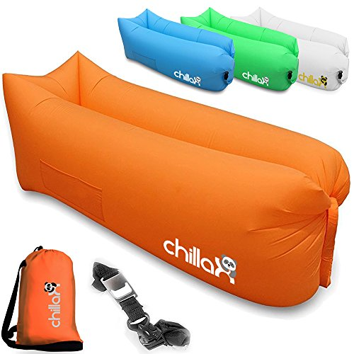 ChillaX Inflatable Lounger Securing Travelling