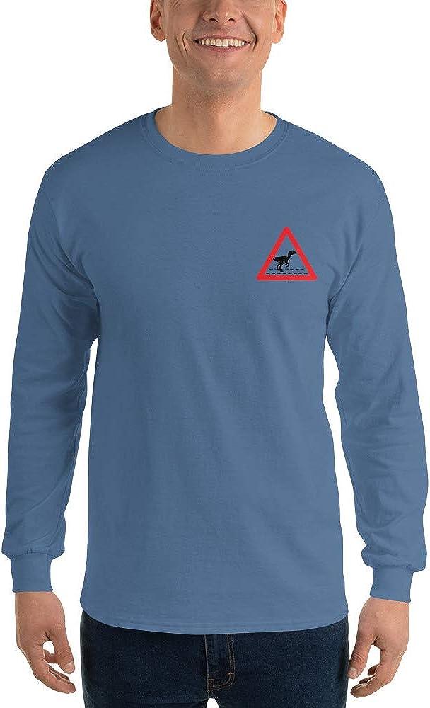 GoodtoGo Designs Dinosaur Jurassic Crossing Men/'s Long Sleeve Shirt