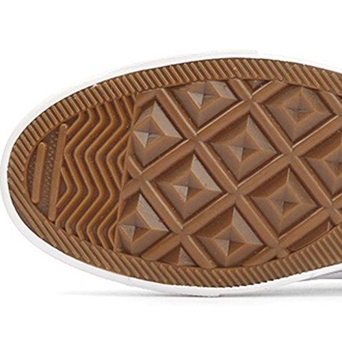 scarpe Color 44 tela da selvatiche di stile basse Size Scarpe Red stoffa Espadrillas YaNanHome Nuove scarpe Bianca di scarpe tendenza uomo scarpe da casual coreano uomo S1fYt8q