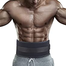 Gymforward Fitness Weight Lifting Belt Gym Crossfit Barbell Lifting Powerlifting Dip Belt Bodybuilding Weightlifting Equipment for Training