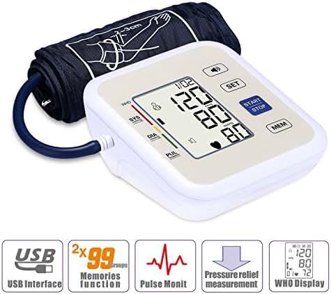 Blood Pressure Monitor - Careonlife Digital Automatic Upper Arm Blood Pressure Monitor As a Healthy Gift