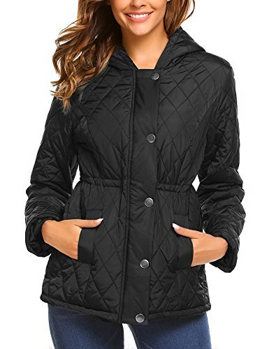 Billti Womens Warm Winter Coat hooded Coat jack...