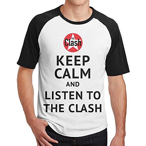Men's Keep Calm And Listen To The Clash  - New Orleans Saints Throwing Shopping Results