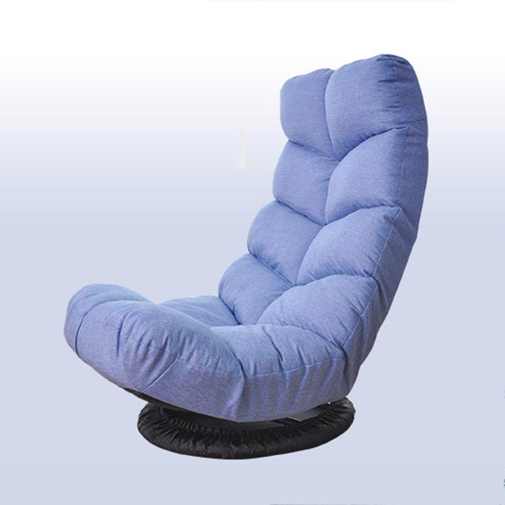 Folding Chairs Sillas Plegables ZR - Taburete de Creatividad Niña Habitación única Mecedora Silla Plegable Lazy Sofá