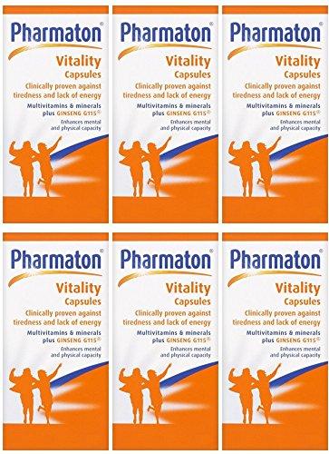 (6 PACK) - Pharmaton - Pharmaton Vitality | 100's | 6 PACK BUNDLE