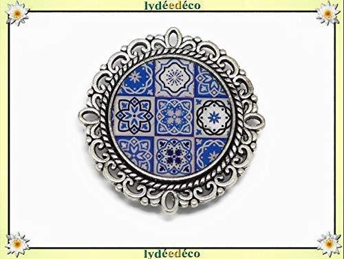Regali Natale Per Coppia Di Amici.1 Magnete Azulejos Lisboa Blu Bianco Regali Personalizzati Regalo Di