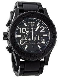 Nixon Men's NXA309000 Classic Analog with Chronograph Black Dial Watch
