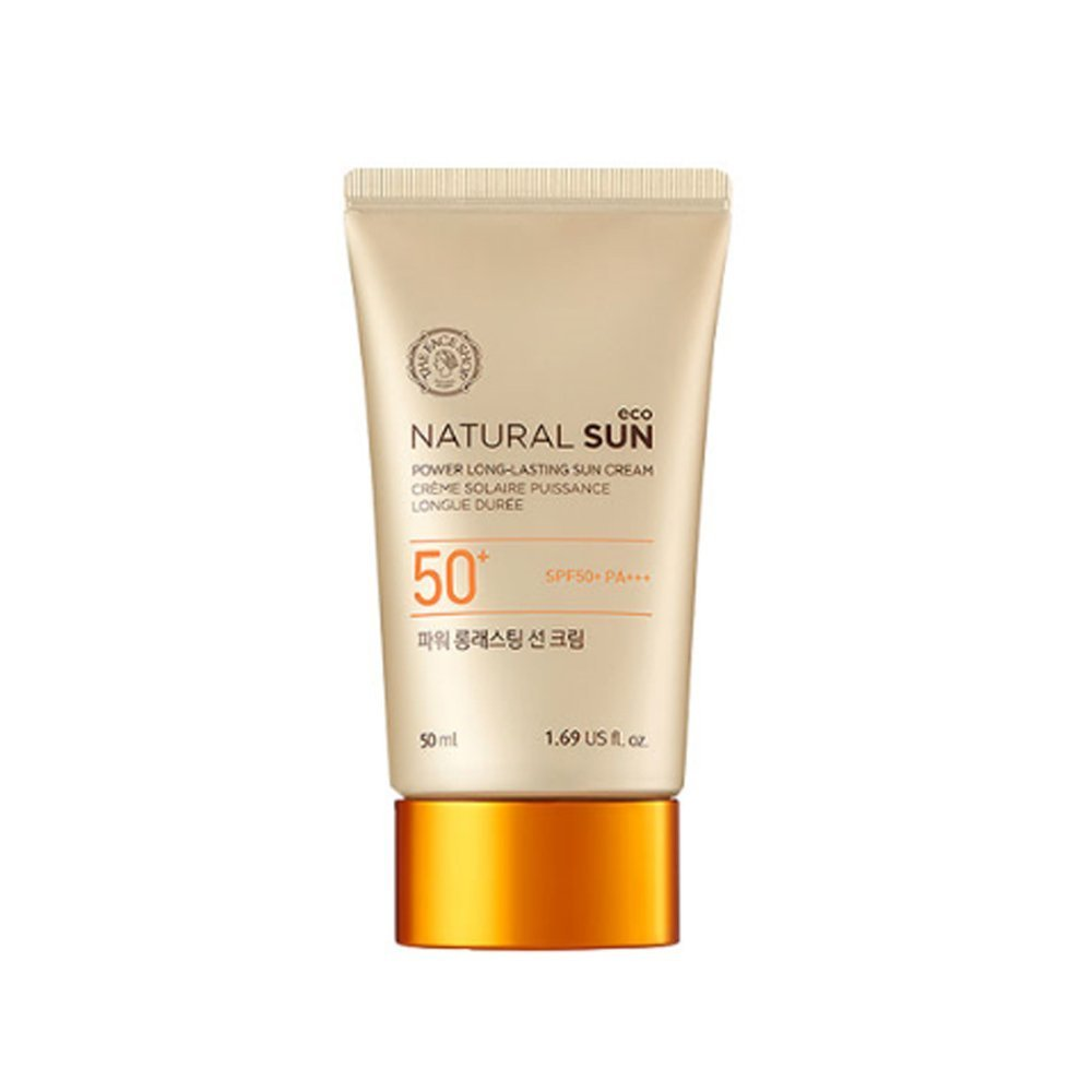 THE FACE SHOP 2015 UPGRADE Natural Sun Eco Power Long-Lasting Sun Cream
