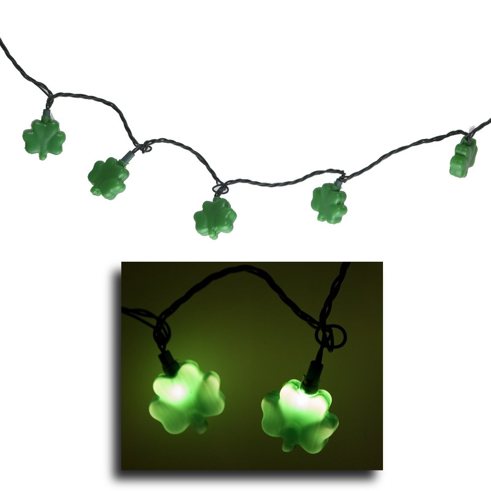 shamrock lights for teacher classroom decor March