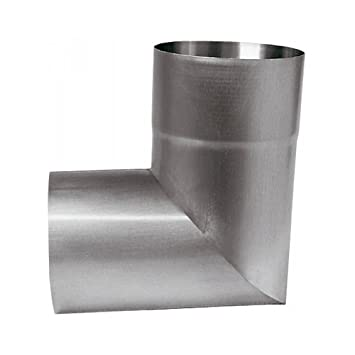 Abgang DN 76 Kupfer Fallrohrabzweig DN 100 mit seitl