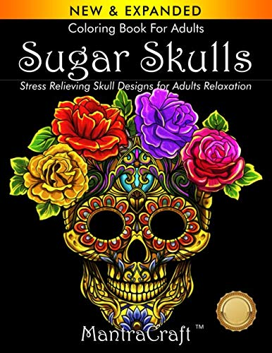 Top sugar skull adult coloring books for 2020