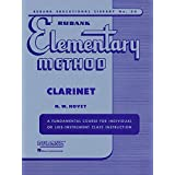 Rubank Elementary Method Clarinet (Rubank Educational Library)