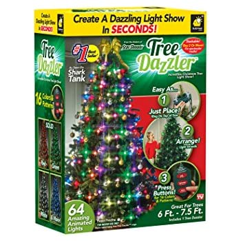 star shower tree dazzler led light show by bulbhead 31 light patterns