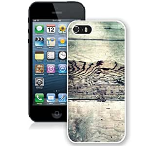 Beautiful Unique Designed Cover Case For iPhone 5S With Greeny Grass White Phone Case