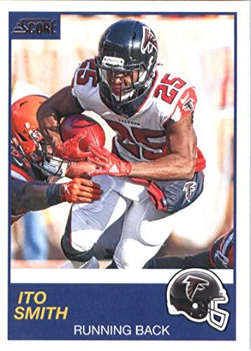 Card Nfl Falcons Atlanta Score - 2019 Score #247 Ito Smith Atlanta Falcons NFL Football Trading Card