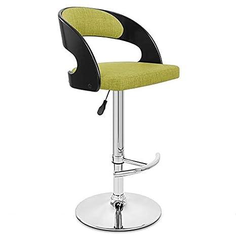 Swell Amazon Com Home Furniture Linen Bar Stools Green Swivel Inzonedesignstudio Interior Chair Design Inzonedesignstudiocom