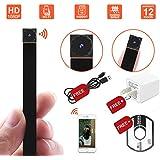 1080P Wireless WiFi Mini Hidden Camera Hidepoo IP Camera Pet Monitor Tiny Spy Camera Portable Nanny Cam with Motion Detection(IOS Android)