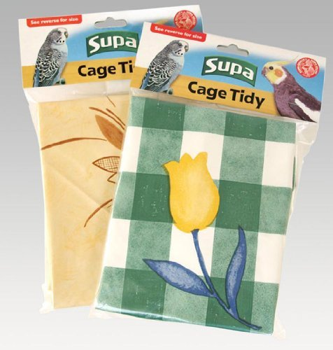 Supa Cage Tidies Bird Cage Floor Cover Extra Large by Pet-Bliss