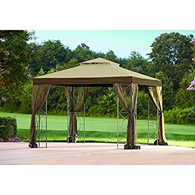 Replacement Canopy Set for Model L-gz813pst Beige Fabric: Home & Kitchen