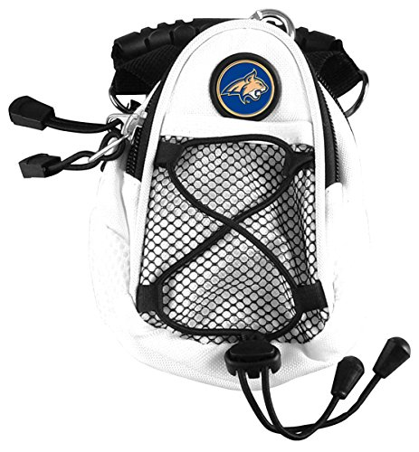 Montana State Bobcats Backpack - LinksWalker NCAA Montana State Bobcats - Mini Day Pack - White