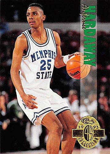 new styles ba6b2 79a8b Anfernee Hardaway Basketball Card (Memphis Tigers) 1993 ...