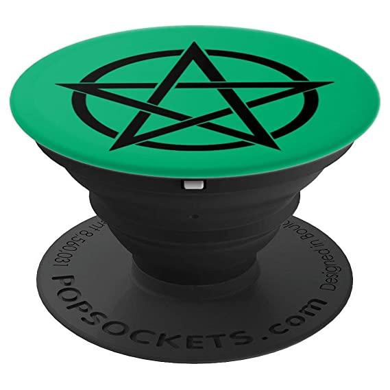 Amazon com: Druid Pentacle Phone Stand Green Celtic Wicca
