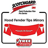 ANY CAR - 3M PRO SERIES - Hood Fender Tips Mirrors Scotchgard Paint Protection film kit
