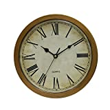 Cuku Storage Wall Clock Indoor Use as Secret Hidden Compartment 10 Inches (Copper)