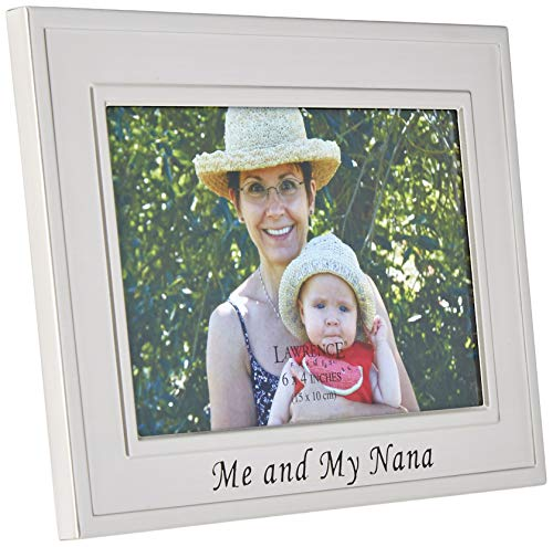 Me & My Nana Picture Frame - Brushed Metal