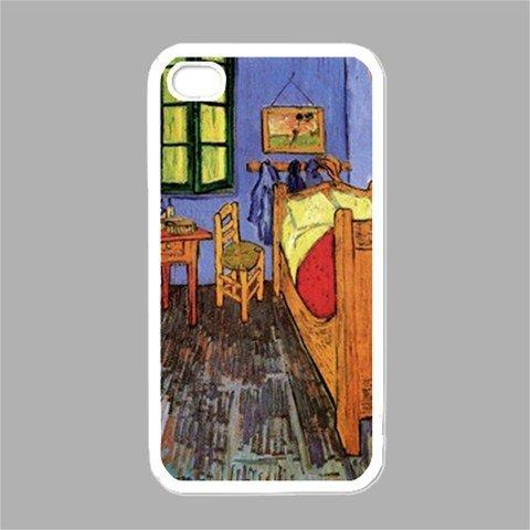 Vincents Schlafzimmer In Arles Von Vincent Van Gogh, Weiß Iphone 4