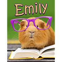 Emily: Personalized Book With Name, Notebook, Journal, Diary, 105 Lined Pages, 8 1/2 X 11
