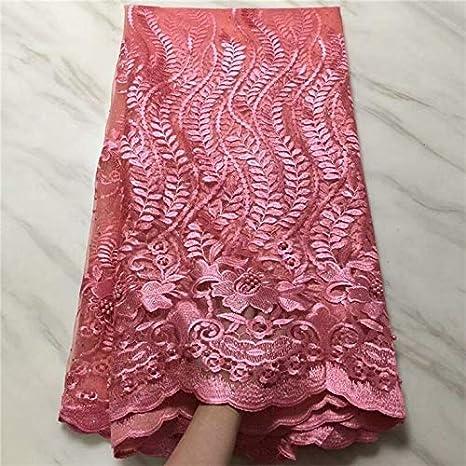 DOBTSore - Cordones nigerianos de tela africana para vestido de ...