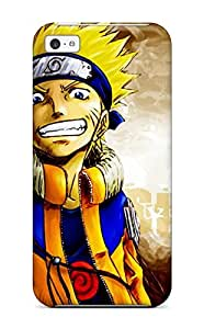 Iphone 4/4s Case Cover - Slim Fit Tpu Protector Shock Absorbent Case (naruto)