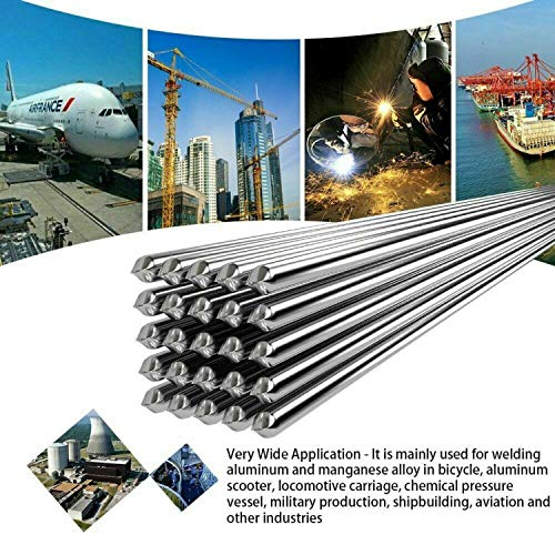 - Weison Easy Aluminum Welding Rods Low Temperature - No Need Solder Powder (50PCS)