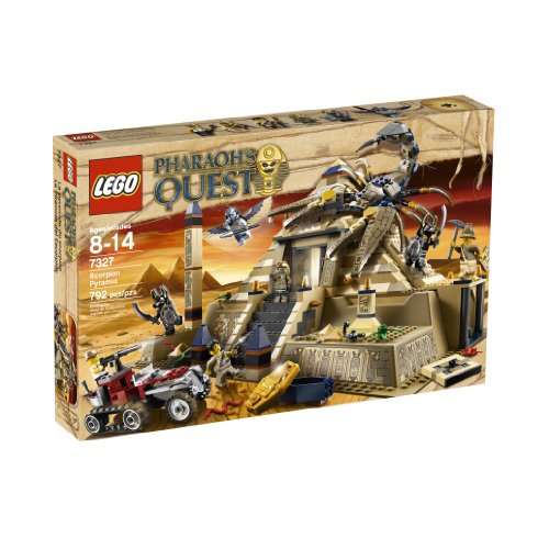 [LEGO Pharaoh's Quest Scorpion Pyramid 7327] (Pharaoh Headdress)