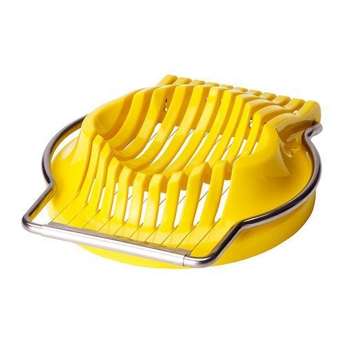 IKEA Egg Slicer Cutter Stainless Steel for Kitchen Boiled Eggs Mushrooms St@llion