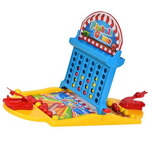 Kesoto 卓上ピンボールコート ボードゲームおもちゃ 指シューティングおもちゃ