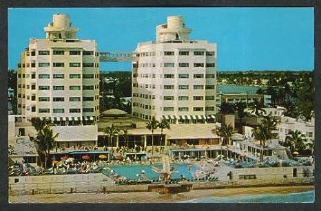 Amazon Com Sherry Frontenac Hotel Miami Beach Fl Postcard 1960s