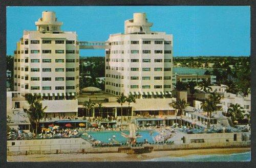 (Sherry Frontenac Hotel Miami Beach FL postcard 1960s)