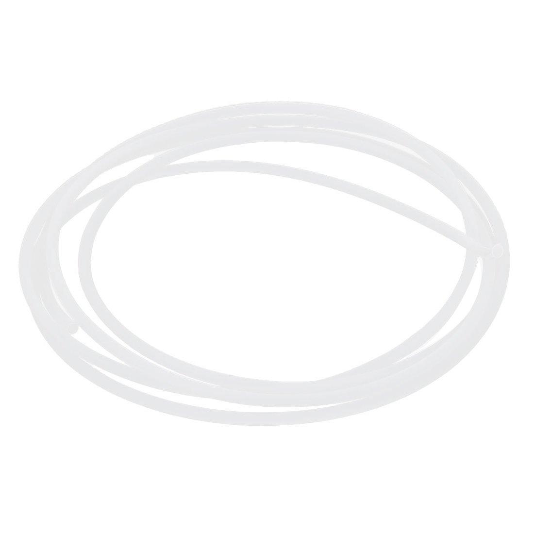 TOOGOO(R) 2M Laenge 3mm ID 4mm OD PTFE Rohrleitung Schlauch Rohr fuer 3D Drucker