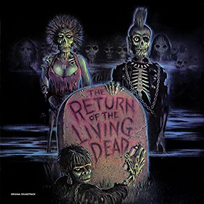 "The Return of the Living Dead: Original Soundtrack (Limited Black & Brown ""Tarman"" Vinyl Edition)"