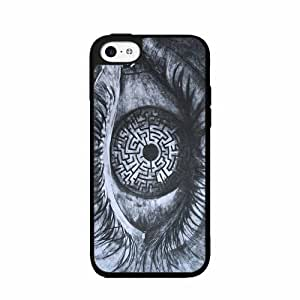 Eye maze- 2-Piece Dual Layer Phone Case Back Cover iPhone 4 4s