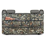 Elkton Back Seat Three Pocket Gun Case & Organizer ( Rifles, Pistols and Ammunition): The Perfect Lightweight Alternitive to Traditional Truck Gun Rack (Grassland Brown Camo)