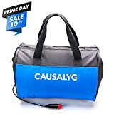 Automotive : Argus Le Causalyg 12 Volt DC Soft Electric Car Cooler/Warmer Bag, Portable Car Refrigerator/Fridge with Thermoelectric System for Camping, Road Trip, Picnic - 18L Capacity