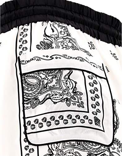 Mujer Sacai 1904269151 Blanco Poliéster Pantalón W484vZqwz7